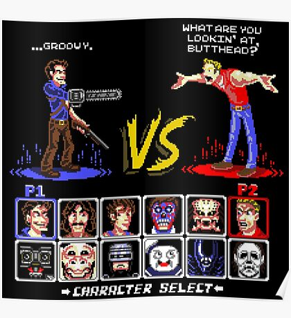 Super 80's Good Vs. Evil 2! Poster