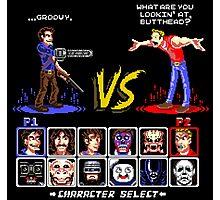Super 80's Good Vs. Evil 2! Photographic Print