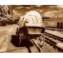 Conastoga Wagon Photographic Print