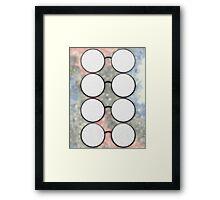 Colorblind Media Framed Print