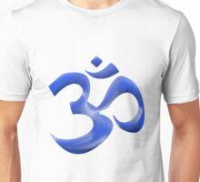 Blue Om Unisex T-Shirt