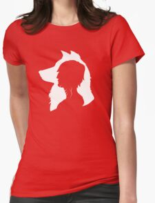 Little Wolf Womens Fitted T-Shirt