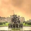 Fire and Water - Sunset at Witely Court by JohnYoung