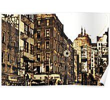 New York City Digital Sketch Poster
