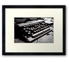 Signs of age 3 Framed Print