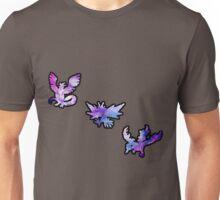 Galaxy Legendary Bird Trio Unisex T-Shirt