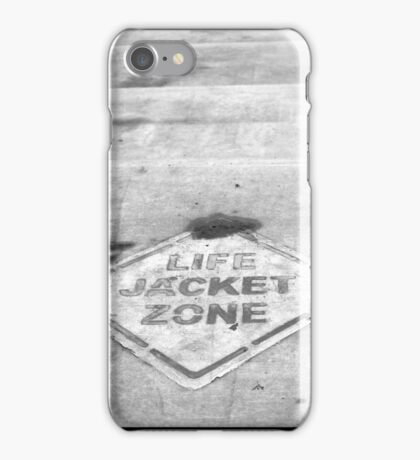Life Jacket Zone iPhone Case/Skin
