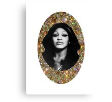 All That Glitters is Tina Canvas Print