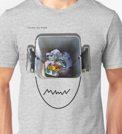 inside my head Unisex T-Shirt