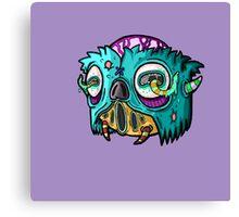 Carnihell #12 Monster head Canvas Print