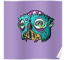 Carnihell #12 Monster head Poster