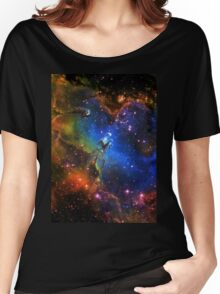 Galaxy Eagle Women's Relaxed Fit T-Shirt