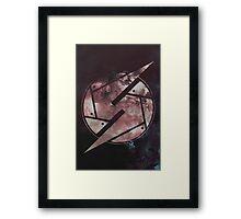 Watercolored Metroid Framed Print