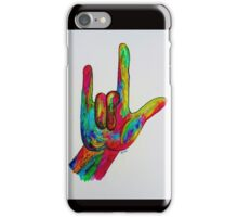 I LOVE YOU - American Sign Language iPhone Case/Skin