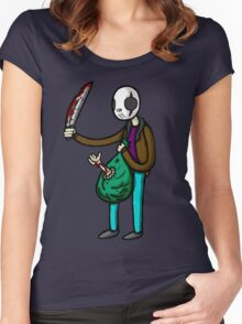 Carnihell #11 Crazy Lenny Women's Fitted Scoop T-Shirt