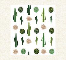 Cacti and tumbleweed seamless pattern Hoodie