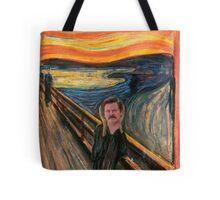 Ron Swanson - Scream Tote Bag