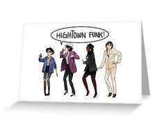 Dragon Age 2 - Hightown Funk Ladies Version Greeting Card