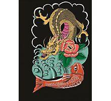 Yakuza Tattoo Photographic Print