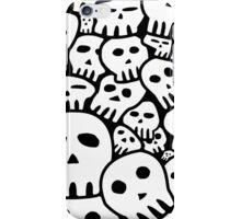 Sketchy Skulls iPhone Case/Skin