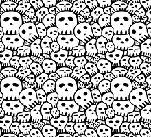 Sketchy Skulls by Alectro