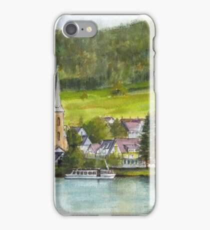 The village of Einruhr in a forest of western Germany iPhone Case/Skin