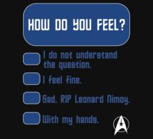 How Do You Feel? Spock's Test by zenjamin