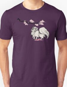 Beneath Cherry Blossoms [Transparent] Unisex T-Shirt
