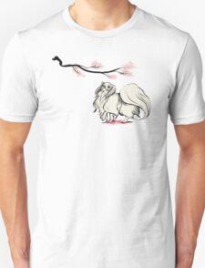 Beneath Cherry Blossoms [Transparent] Unisex T-Shirt