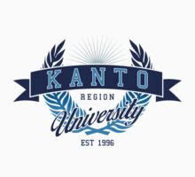 Kanto Region University One Piece - Short Sleeve