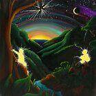 Forest Majick-08 by Donna Raymond