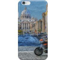 Rome intersection iPhone Case/Skin