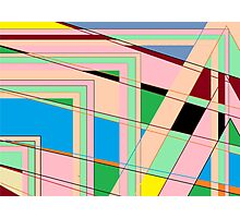Maze of Distress Photographic Print