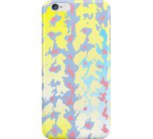Knitting background pattern iPhone Case/Skin