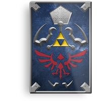 Twilight Princess Hylian Shield Metal Print