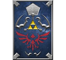 Twilight Princess Hylian Shield Photographic Print