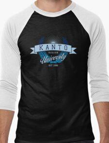 Kanto Region University_Dark BG Men's Baseball ¾ T-Shirt