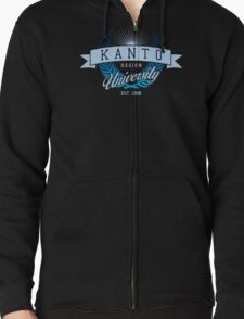 Kanto Region University_Dark BG Zipped Hoodie