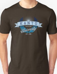 Kanto Region University_Dark BG Unisex T-Shirt