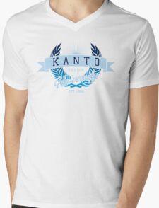 Kanto Region University_Dark BG Mens V-Neck T-Shirt