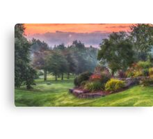 Early Morning Beauty Canvas Print