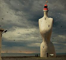 French surreal lighthouse by paulgrand