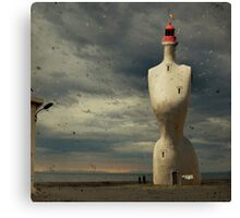 French surreal lighthouse Canvas Print