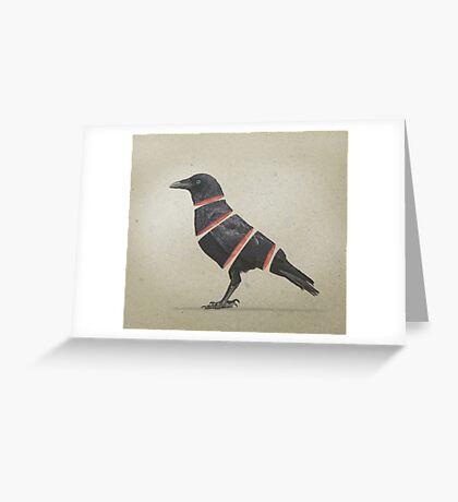 Raven Maker Greeting Card