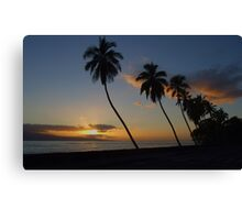 2007 ~ Lahaina Sunset  Canvas Print