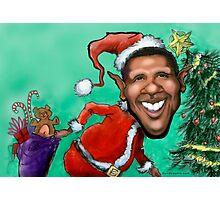 Obama Christmas Photographic Print
