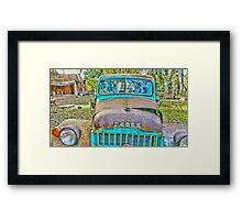 Old Dodge Trucks.. Framed Print