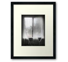 'For the ghostlike light' Framed Print