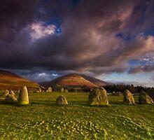 Castlerigg - Lake District by Douglas  Latham