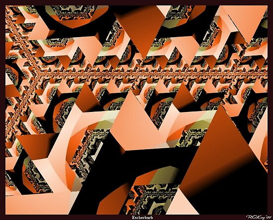 Escher's Suburbia by Bloodnok